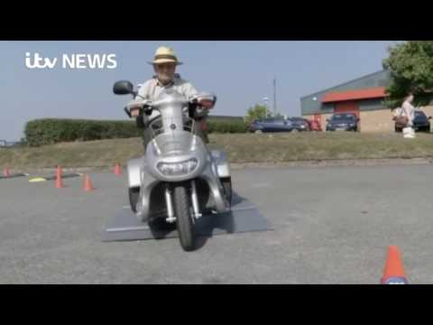 TGA Mobility: Safe mobility scooter driving day August 2017 - as featured on TV YouTube video thumbnail