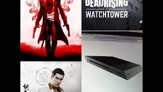 PS4 Slim /Novo Yakuza /Dead Rising Watchtower o filme / DMC adiantado em uma semana