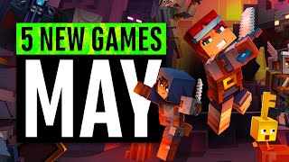 5 New Games May (including a FREE game)