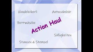 Action Haul 13.10.2021 / Stanzen, Stempel, Hundeleckerli, Süßigkeiten und Co.