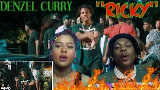 DENZEL CURRY   RICKY (OFFICIAL VIDEO) REACTION!!!