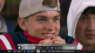 Cowboys vs. Patriots INSANE FINAL MINUTES | NFL Week 6
