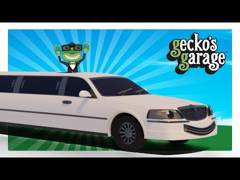 Limousines For Children | Gecko's Garage | Cars for Kids