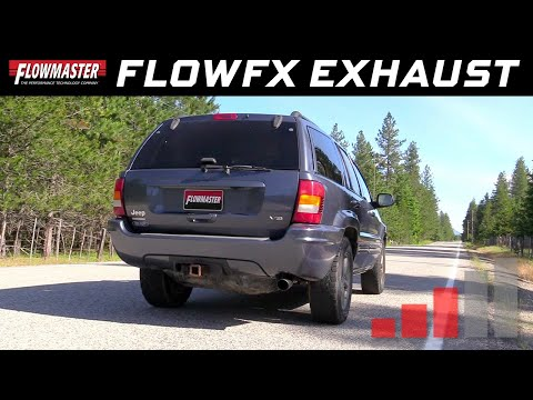 1999 - 04 Grand Cherokee 4.0L & 4.7L - FlowFX Cat-back Exhaust - 717939