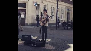 Howard Charity busks in Kingston Upon Thames!