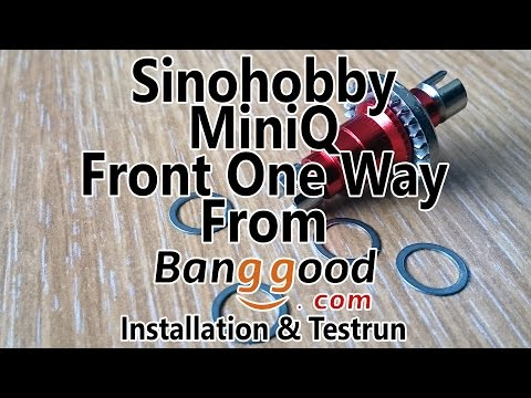 Sinohobby 1/28 Front One Way from Banggood - Installation & Testrun