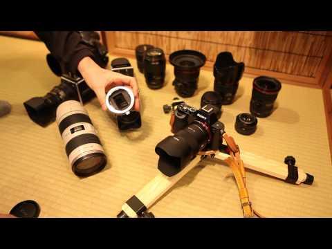 Sony α7R (ILCE-7R) + Canon EFレンズ w/ 電子接点マウントアダプタ-その1