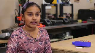 Twelve-year-old creates solution for polluted water