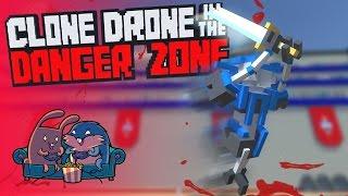 "Обзор Clone Drone in the Danger Zone ""Во всем виновата Марина..."""