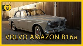 Volvo Amazon b16a tidig 1957 med unika detaljer