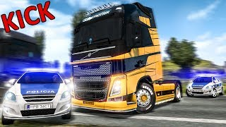 ★ IDIOTS On The Road #34 - ETS2 MP   Funny Moments - Euro Truck Simulator 2 Multiplayer