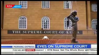 Presidential election back in court after at least three petitions filed last evening