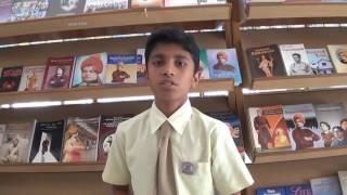 Cham English School Vivekananda Speech By Jay Chauhan Porbandar