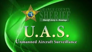 Orange County Sheriff Jerry Demings And OCSO's New Drone.