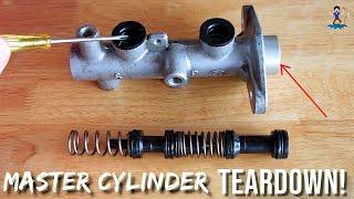 Vehicle Brakes: Master Cylinder(How it works)