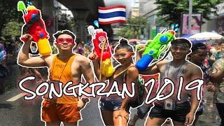 SONGKRAN THAILAND 2019 • WILDEST WATER GUN FIGHT! สงกรานต์ 2562