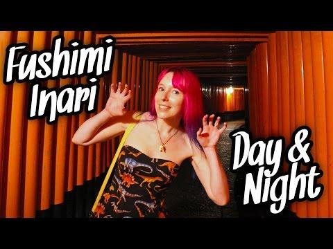 Fushimi Inari Shrine DAY & NIGHT - Kyoto, Japan Vlog
