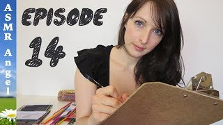 ASMR - Art With Angel - Portrait / Personal Attention - EP14