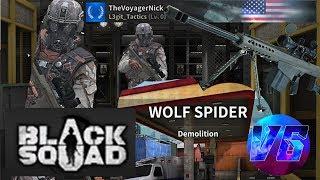 Pro Sniper [Black Squad] Map: Wolf Spider