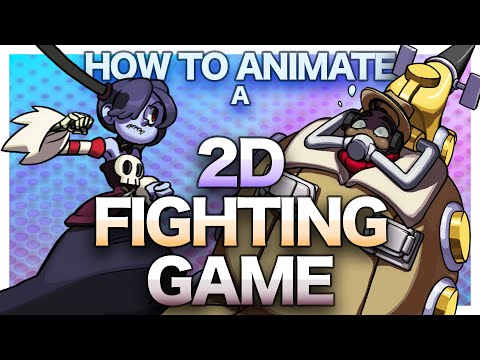How 2D Fighter Games are Animated