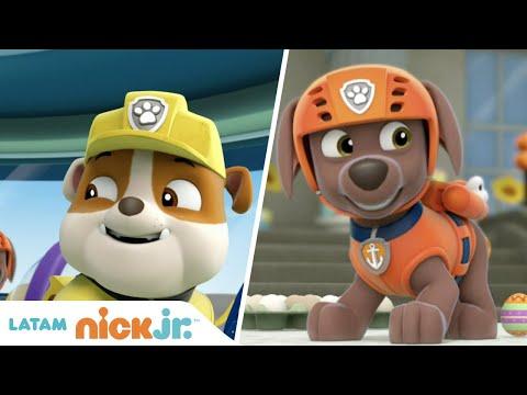 Paw Patrol, Patrulla de cachorros | Los mejores rescates de la Patrulla Canina | Nick Jr. en Español