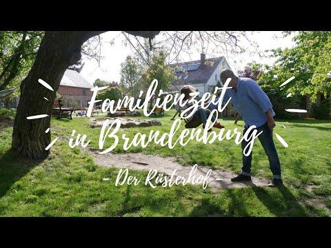 #Familienzeit in Brandenburg: Auf dem Rüsterhof im Seenland Oder-Spree