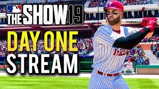MLB The Show 19 - Release Day Livestream!