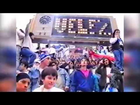 """HINCHADA (Velez Sarsfield) | Clausura 1993"" Barra: La Pandilla de Liniers • Club: Vélez Sarsfield • País: Argentina"