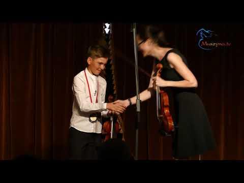 Koncert gry na skrzypcach