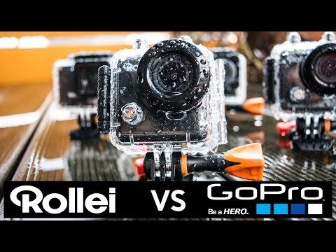 Rollei Actioncam 300, 400, 410, 420 vs. GoPro Hero 4 Black Edition | Ach du Schreck