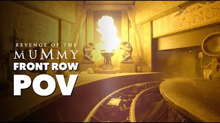 Ride Revenge of the Mummy from Home