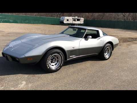 Video of 1978 Corvette located in New York - $16,900.00 - PS6K