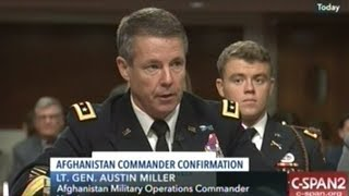 NATO And Afghanistan Commander Confirmation Hearing
