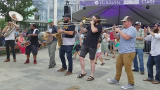 Empire Strikes Brass perform at FFG 10-15-17