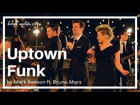 Uptown Funk cover with Boogie Agenda, 10-piece wedding & corporate band