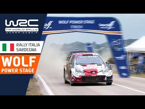 WRC 2021 第5戦ラリー・イタリア パワーステージハイライト動画