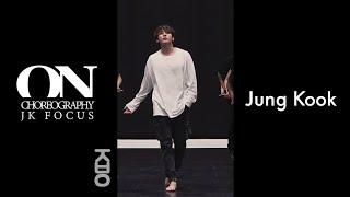 [ JK ] VERTICAL EDIT 방탄소년단 정국 JUNG KOOK 'ON' 안무영상 Dance Practice