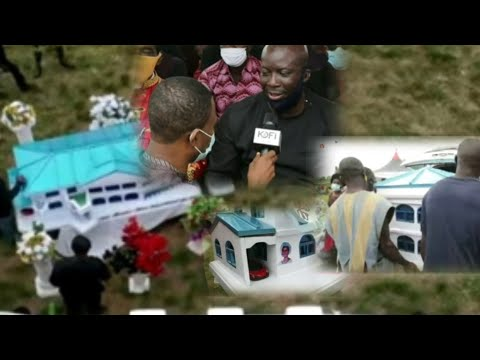 Prophet Kumchacha Speaks At Mum's Funeral Service