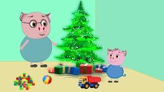 Мультфильм для детей - Веселые приключения свинки Алисы
