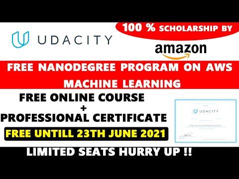 Udacity Free AWS Machine Learning Nanodegree Program | Free ...