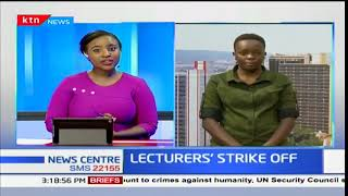 UASU call off lecturers' strike after successful negotiations with the IPUCCF
