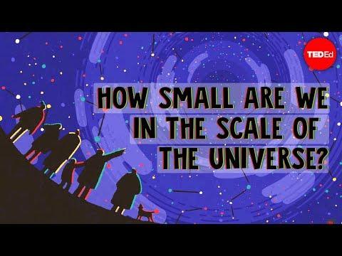 עד כמה קטנים אנחנו ביחס ליקום?