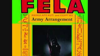 Fela Kuti (Nigeria, 1985)     Army Arrangement (Full Album)