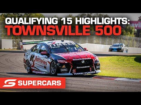 SUPERCARS 2021 NTI Townsville 予選タイムアタックのハイライト動画