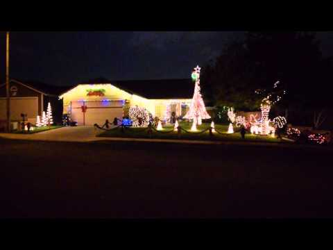 Frozen Let It Go Christmas Light Show 2014 Play