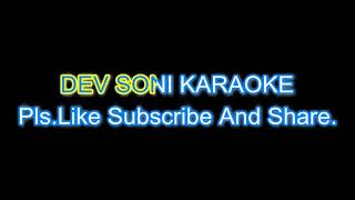 Behka diya hamein karaoke with lyrics by Dev Soni   - YouTube