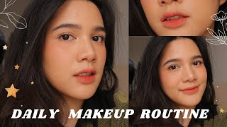 DAILY MAKEUP ROUTINE (UPDATED) 2020 || Bahasa