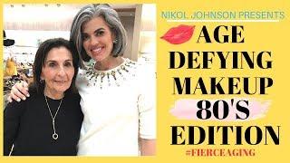 AGE DEFYING MAKEUP | 80'S EDITION | Nikol Johnson