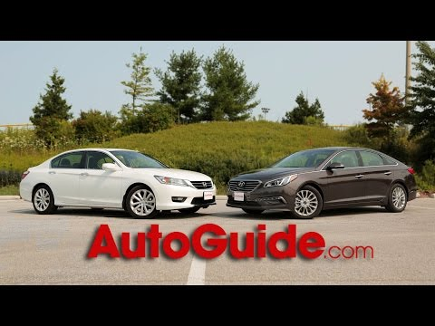 2014 Honda Accord vs. 2015 Hyundai Sonata