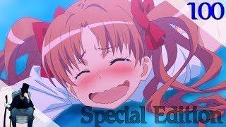 Аниме приколы под музыку | Аниме моменты под музыку | Anime Jokes № 100 (Special Edition)